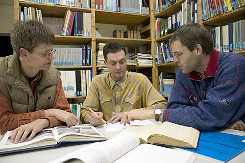 Drei Nachwuchswissenschaftler