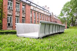 Brücke aus Textilbeton