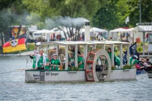 15. Deutsche Betonkanu-Regatta in Brandenburg an der Havel. Foto: BetonBild/ Candy Welz