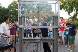 Brückentest des Otto-Mohr-Laboratoriums