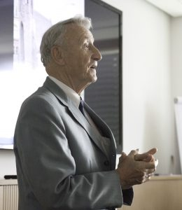 Der Jubilar Dr.-Ing. Hans Wiese, Foto: © Sven Hofmann