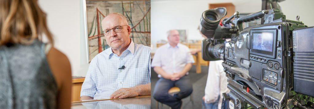 Brückenexperte Prof. Manfred Curbach im Interview